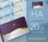 WHOLESALE 10 ACQUADERM HA Fine Wrinkles 35mg/ml + Lidocaine 2% - 2ml - Compare to Restylane. Total 20ml - 24h Delivery