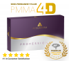 BELLAFILL - NEW PMMA 4D PRO VOLUMA Semi-Permanent Implant 5% - Professional 2ml with Collagen, Lidocaine 2%, Polymethylmethacrylate 5% and Hyaluronic Acid Deep. Compare to Bellafill Artefill Aquamid - 24h Delivery